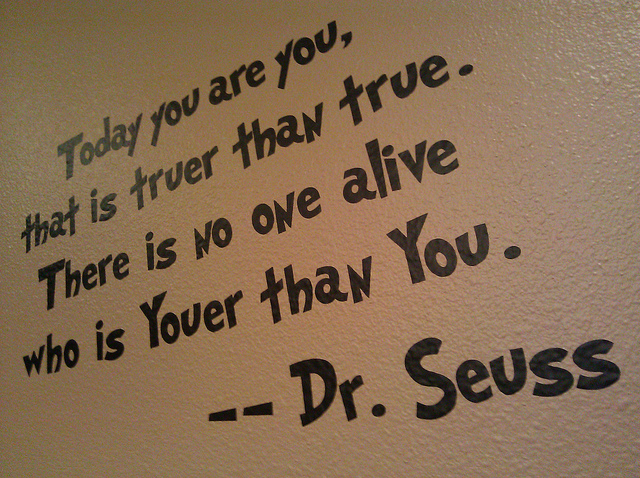 Dr. Seuss Quotes On Being Yourself