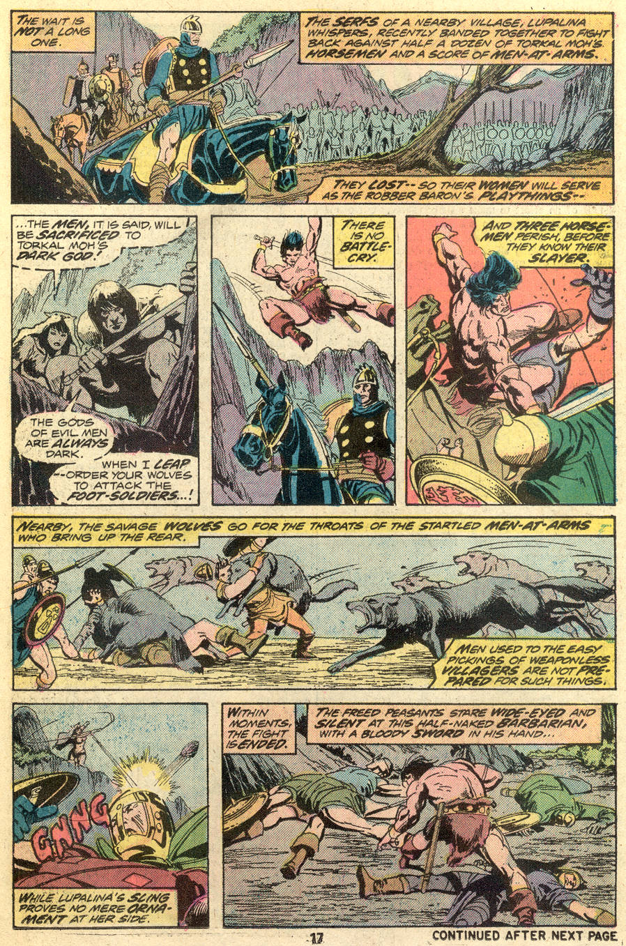 Conan the Barbarian (1970) Issue #49 #61 - English 12
