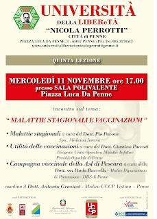 Locandina incontro 11 novembre