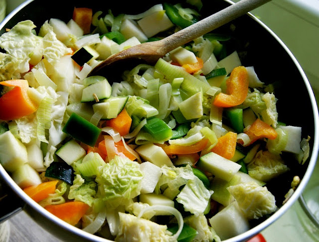 warzywa z curry