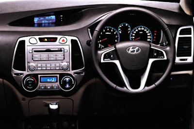 2012 Hyundai i20 Interior Design.