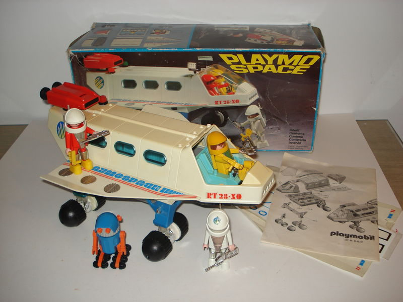 La linea playmospace de playmobil el loco retro for Nave espacial playmobil