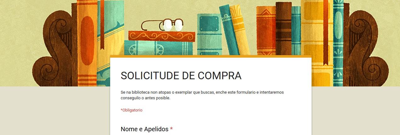 SOLICITUDE DE COMPRA