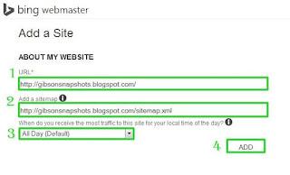 Mendaftarkan Blog ke Bing Webmaster Tools