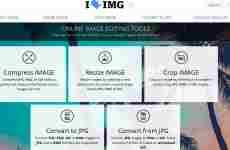 ILoveImg: permite convertir, comprimir, cortar, y cambiar el tamaño de imágenes