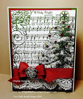 Our Daily Bread Designs, O Holy Night, designed by Julie Gearinger