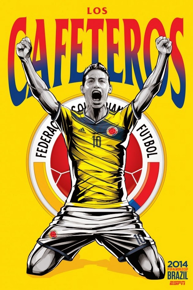 Fifa World Cup Brazil 2014 Posters