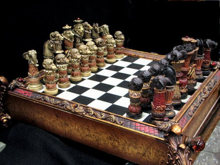 Cool chess boards unseen pictures 4 you - Coolest chess boards ...