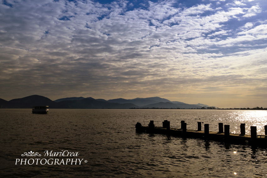 Light on the lake.