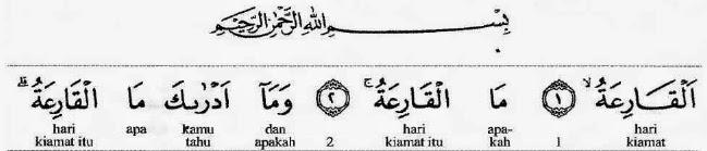 Tafsir Quran Al Qariah 1-3