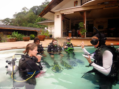 PADI IDC Khao Lak November 2013 briefing