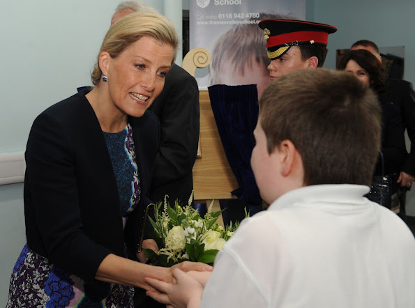 A Reading free school for children and young people with autism has been officially opened by Sophie, Countess of Wessex.