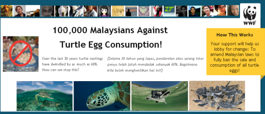 WWF Petition