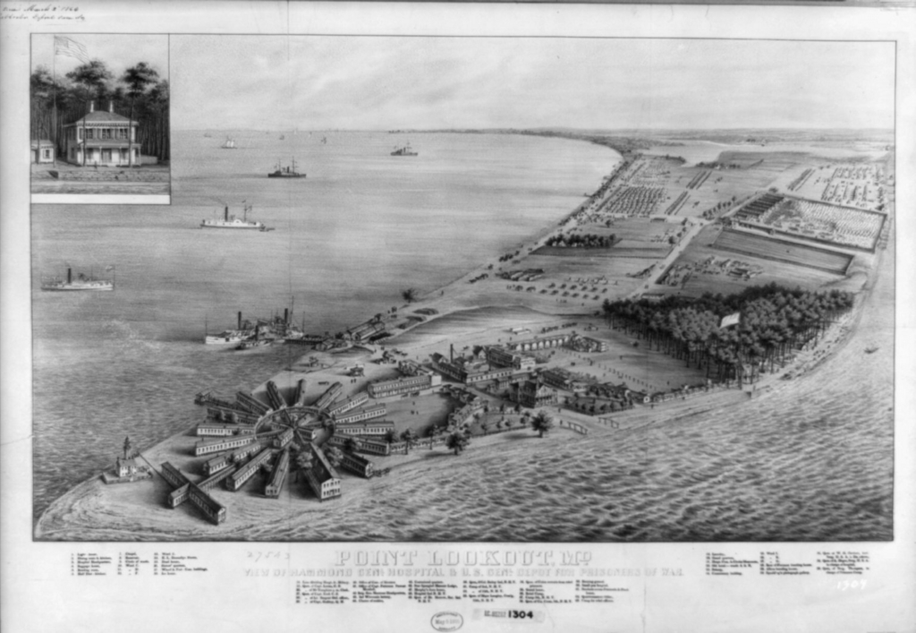 Spotsylvania memory yankee hospitality for Point lookout fishing pier