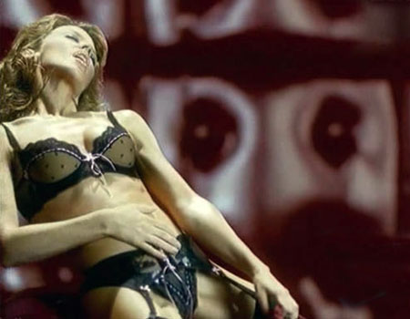 Kylie Minogue Lingerie advert Banned from the UK TV - YouTube