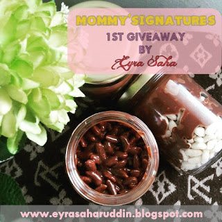 MOMMY'SIGNATURES 1ST GIVEAWAY BY EYRASAHA