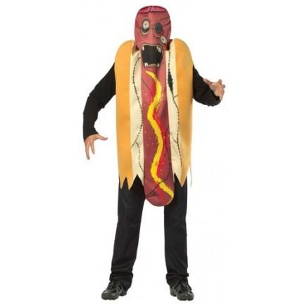 Disfraz Hot Dog Zombie