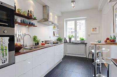 dapur cantik6 30 Ide Desain Dapur yang Cantik dan Menarik