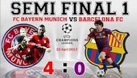 Hasil Video Bayern Munchen vs Barcelona 23 April 2013