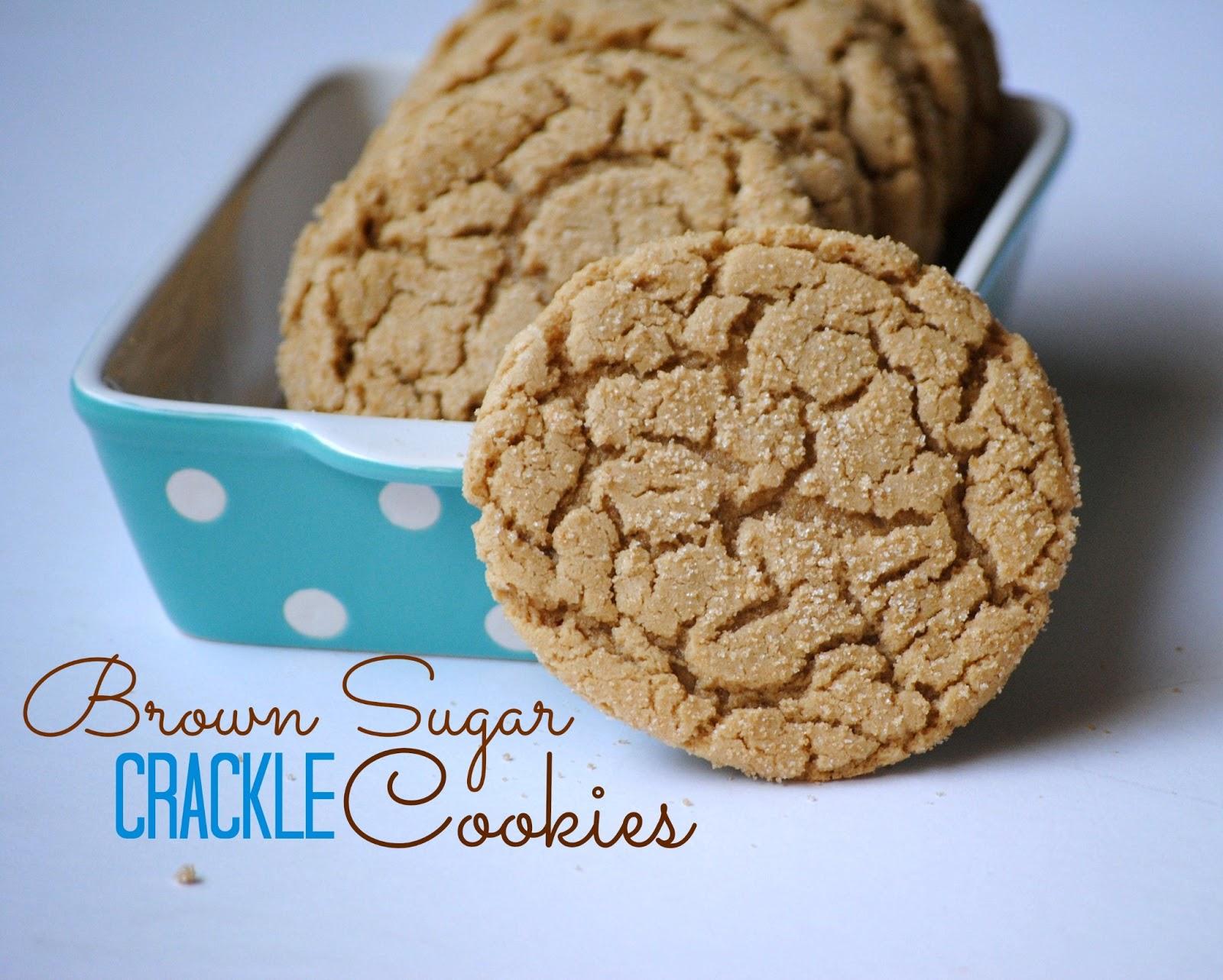 The Farm Girl Recipes: Brown Sugar Crackle Cookies