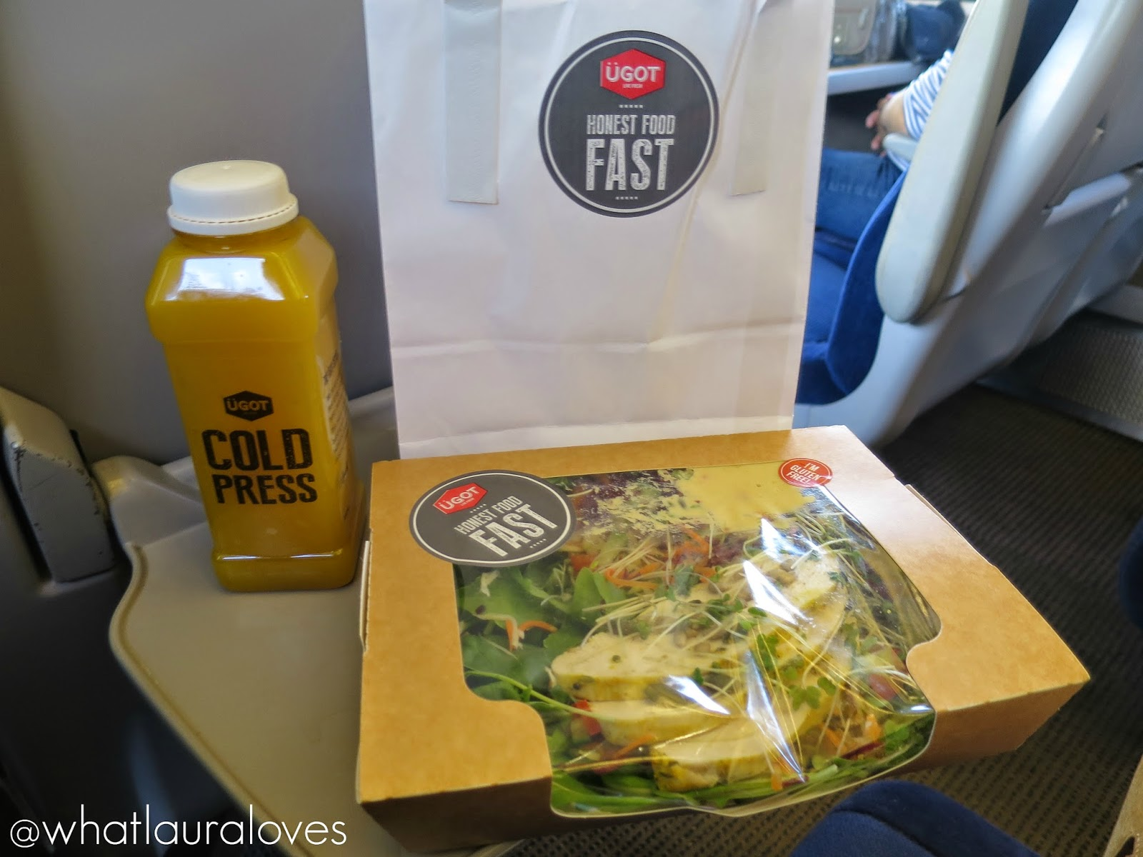 UGOT HONEST FOOD FAST REVIEW HEALTHY NEWCASTLE YORK TRAIN STATION