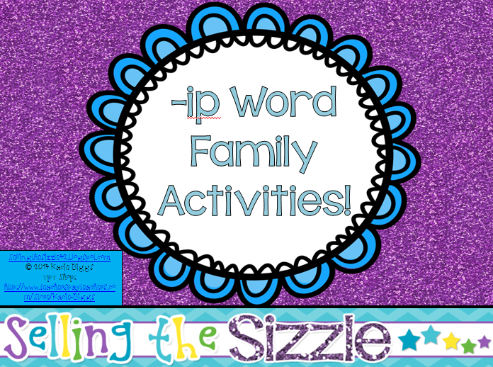 http://www.teacherspayteachers.com/Product/-ip-Word-Family-Activities-1210691