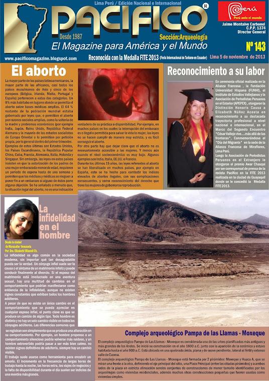 Revista Pacífico Nº 143 Arqueología