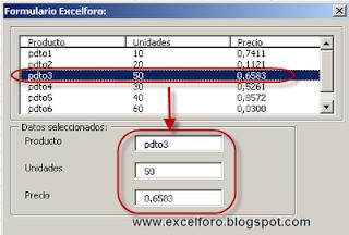 Asociar a un TextBox el valor seleccionado de un ListBox.