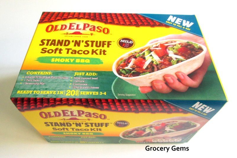 Stand 'N Stuff™ Taco Shells, 10 count Shells Tortillas Create super tacos with Old El Paso™ crunchy Super Stuffer™ Taco Shells, ready to hold a super amount.