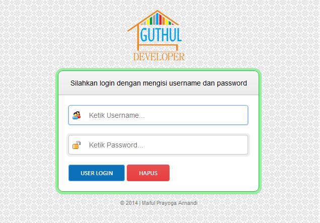 login - Aplikasi Honor Karyawan Dengan Php Mysql