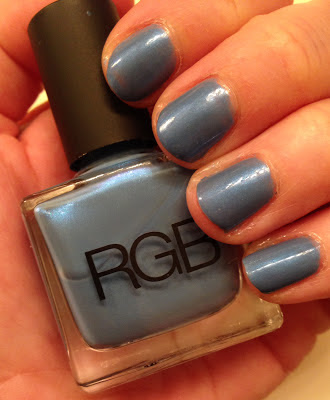 My 2014 in nails, #ManiMonday, Mani Monday, manicure, nails, nail polish, nail lacquer, nail varnish, RGB Cerulean