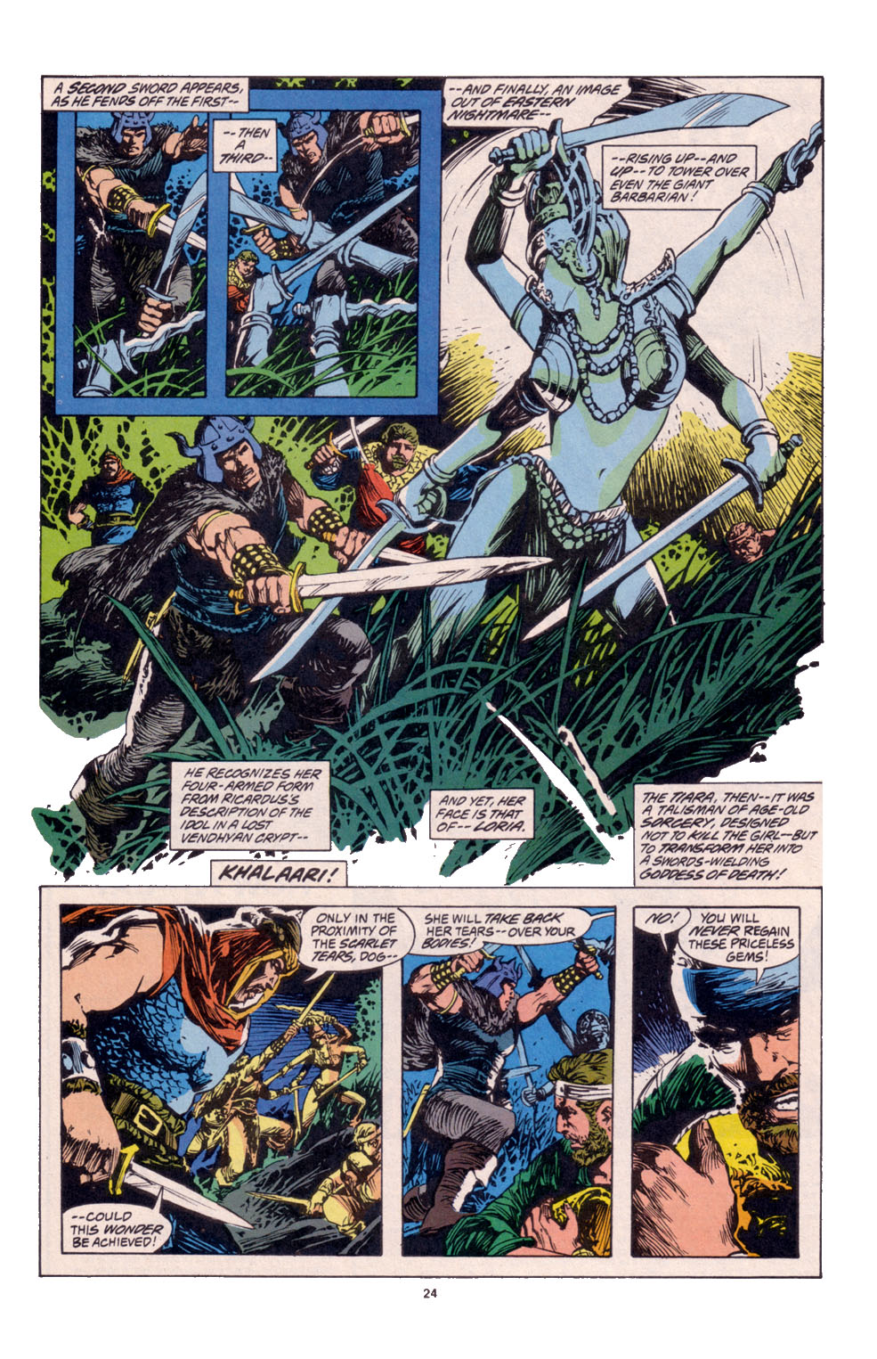 Conan the Barbarian (1970) Issue #261 #273 - English 18