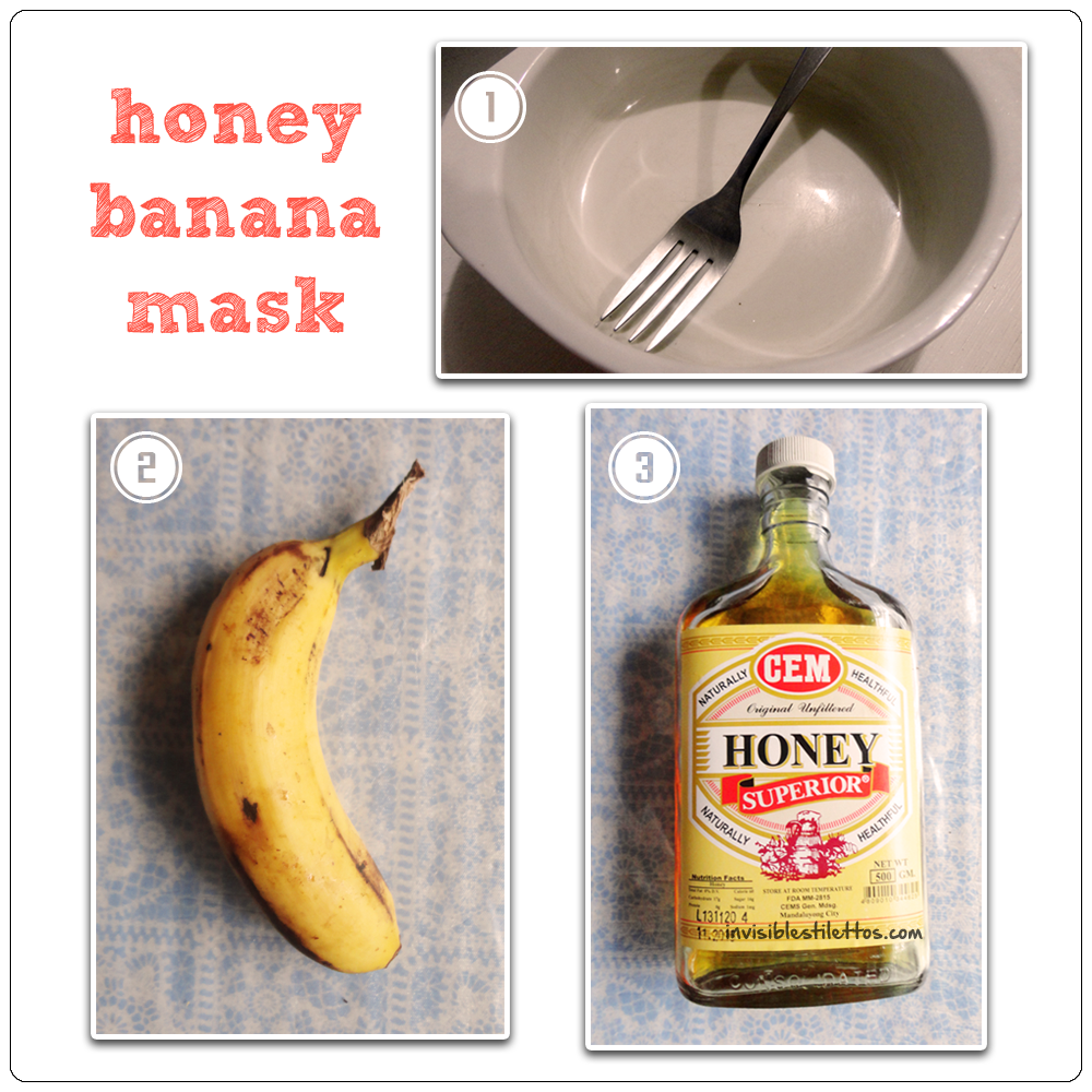 Honey Banana Mask