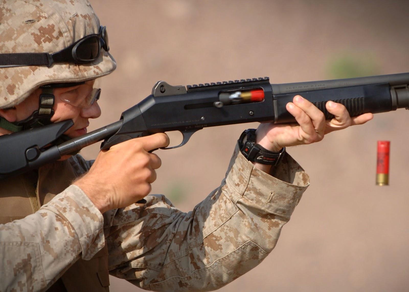 12 Gauge Pump Action Shotguns