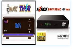 Como atualizar azbox bravíssimo transformado em maxfly thor