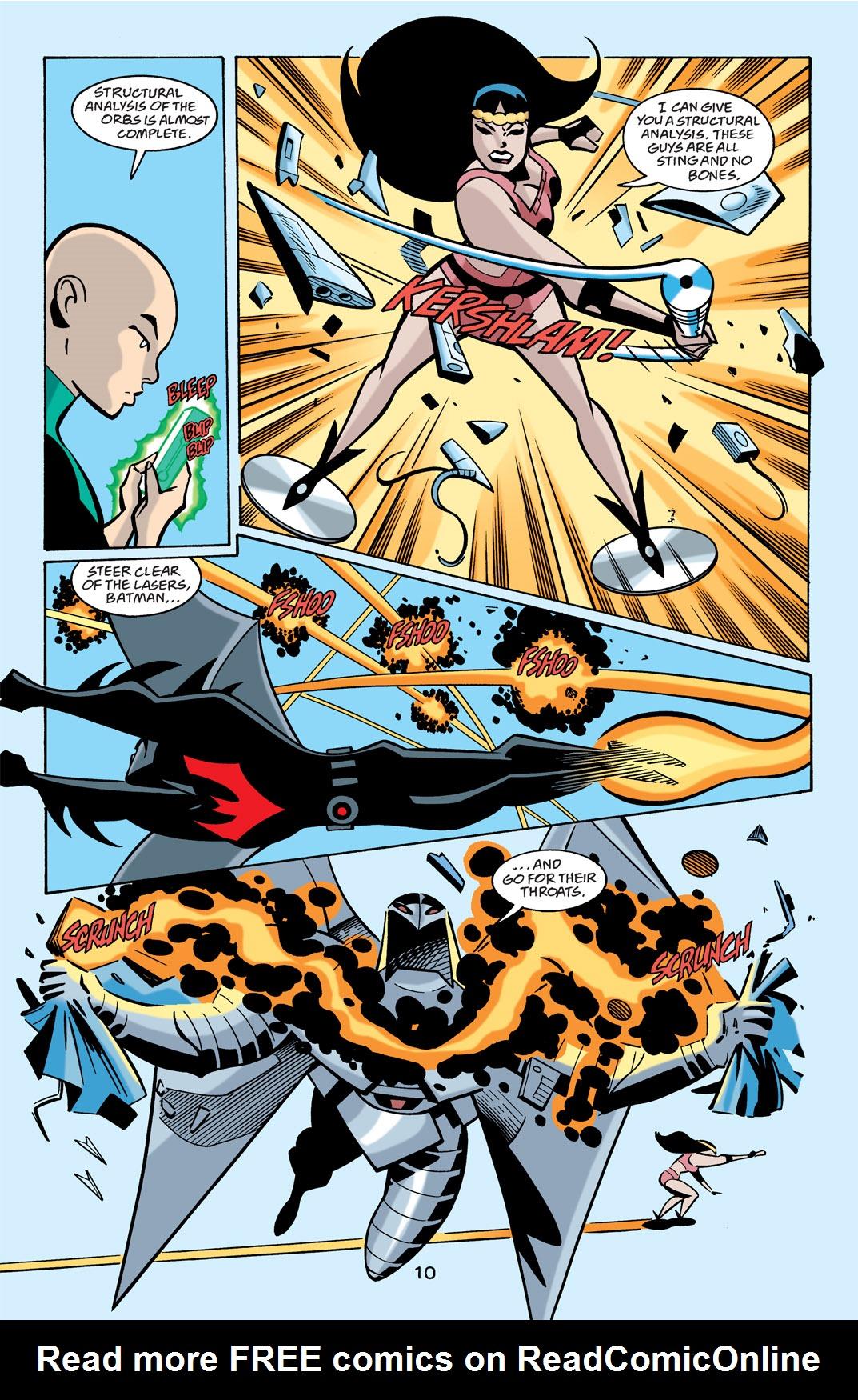Batman Beyond [II] Issue #21 #21 - English 11