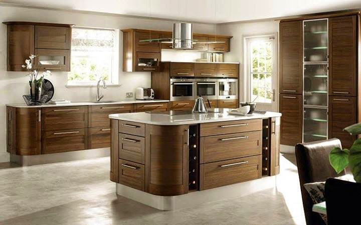 Luxury Italian kitchen designs, ideas 2015, sets, Italian brown kitchens