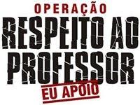 RESPEITO AO PROFESSOR!