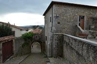 Torre del Preboste y la puerta de la Barrera o de Santander