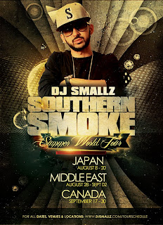 southern smoke summer tour S/O to DJ SMALLZ   Southern Smoke Summer World Tour
