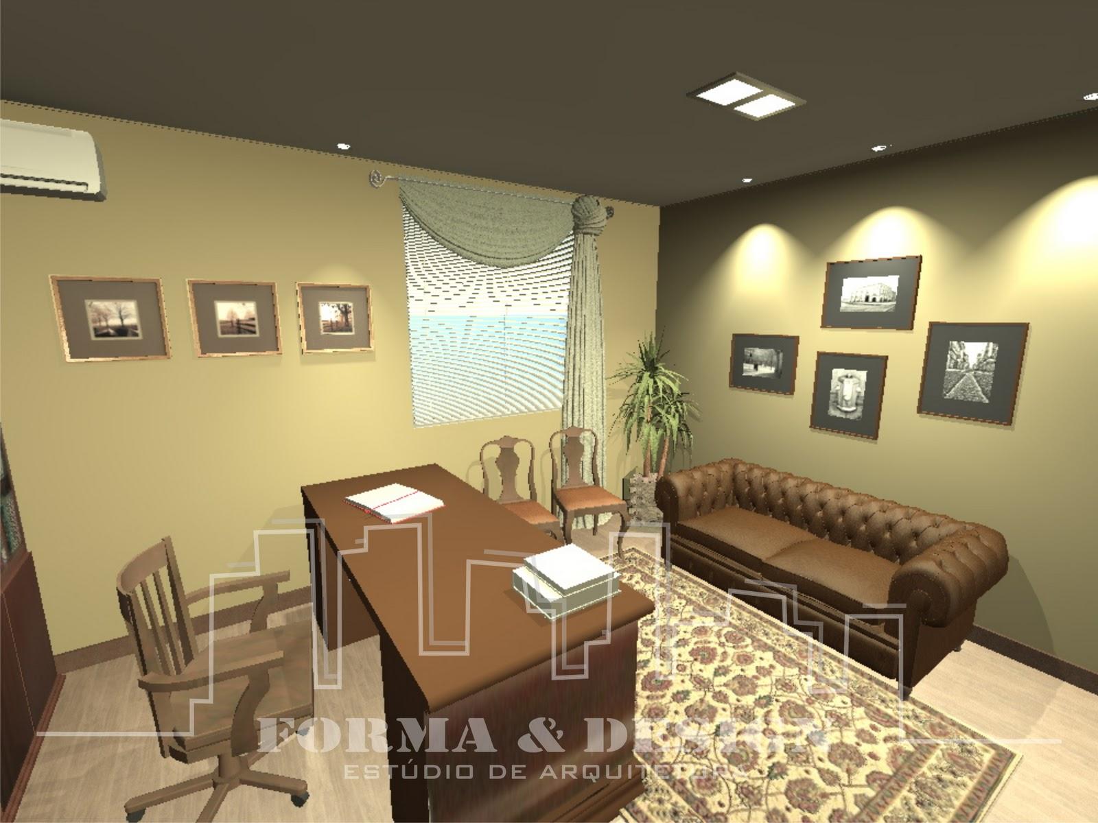 Forma e Design Estúdio de Arquitetura: Escritório de Advocacia #959236 1600x1200