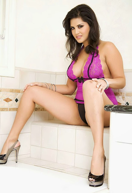 Hot and Sexy Sunny Leone Spicy Lingerie Photoshoot indianudesi.com