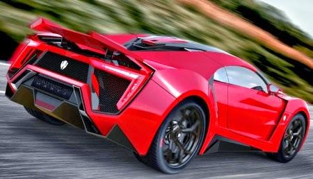hình ảnh xe Lykan Hypersport