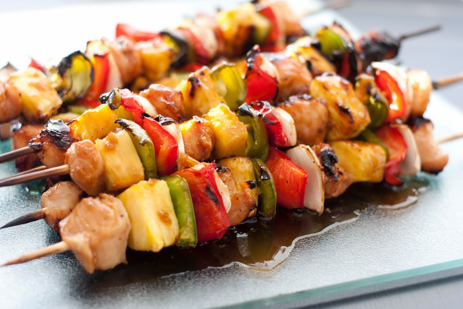 GM Diet Chicken Kebab Recipe