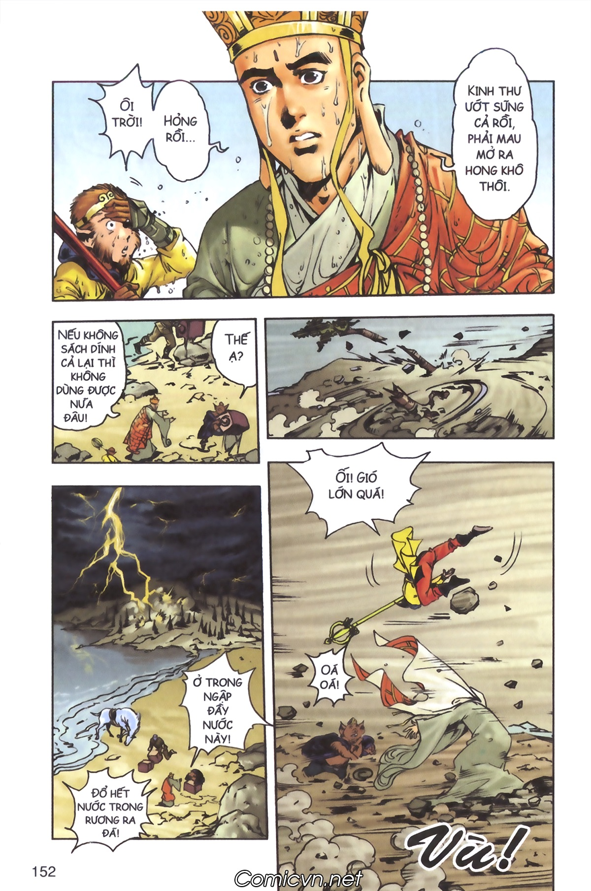 Tây Du Ký Chap 134