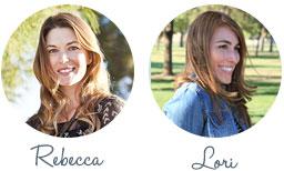 Rebecca and Lori