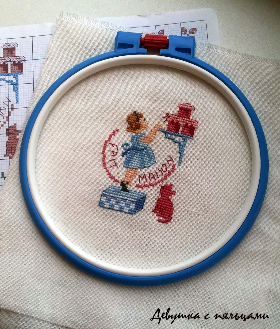 Вышивка на пяльцах фото