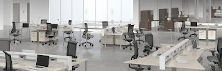 e5 Open Desking Furniture by Mayline