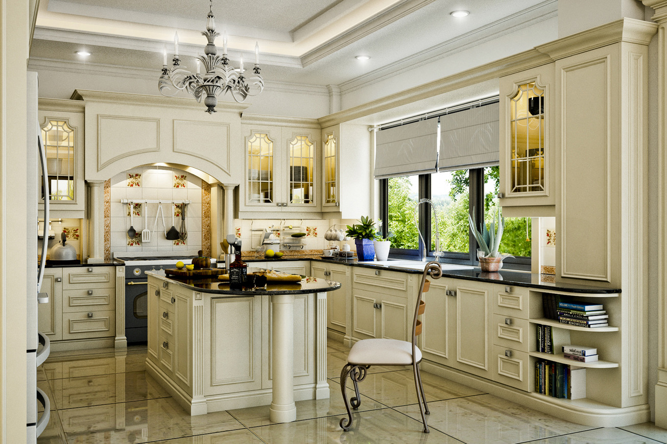 attractive Classic Kitchen Designs Pictures #3: Classic Kitchen Design Illinoiscriminaldefensecom Classic Kitchen
