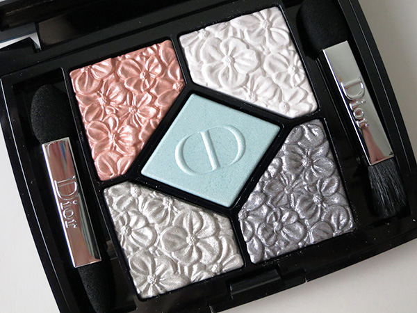 Dior 5 Couleurs Glowing Gardens Eyeshadow Palette Blue Garden
